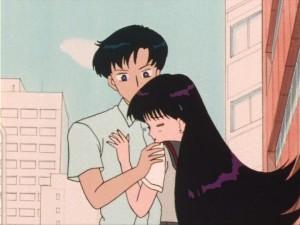 Rei and Mamoru