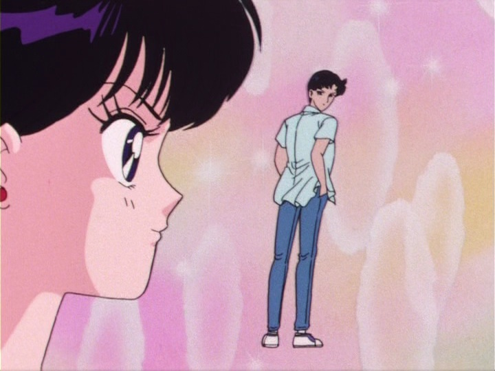 Rei lusting after Mamoru