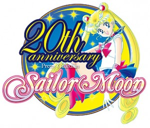 Sailor Moon 20th anniversary logo