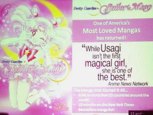 Sailor Moon vol. 6 - Kodansha Comics panel at SDCC 2012