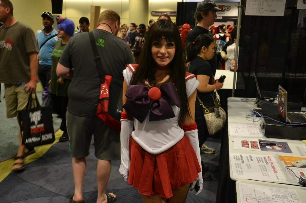 Sailor Mars cosplay at Fan Expo