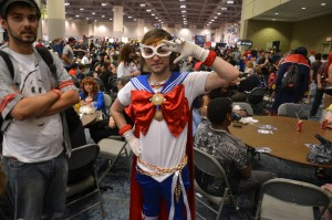 Sailor Moon crossplayer at Fan Expo