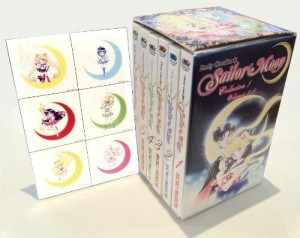 Sailor Moon Manga Volumes 1-6 Box Set