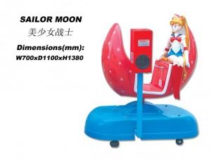 Sailor Moon ride product photo