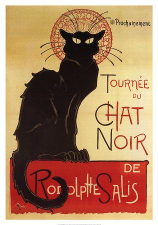 Tournée du chat noir de Rodolphe Salis