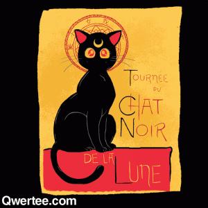 Tournée du Chat Noir de la Lune t-shirt image