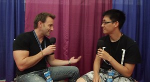 Vincent Corazza interview at Anime Revolution 2012