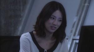 Akumu-chan Ayami Mutoi, played by Keiko Kitagawa, using a computer