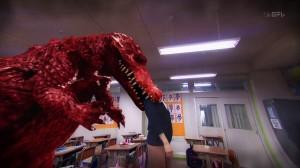 Akumu-chan - Keiko Kitagawa gets eaten by an alligator