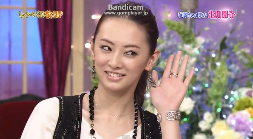 Keiko Kitagawa on Shabekuri 007