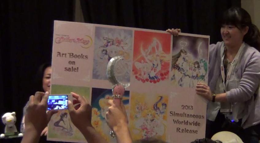 Kodansha panel Sailor Moon announcements at New York Comic Con 2012