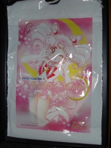 Sailor Chibi Moon bag from Kodansha booth at NYCC