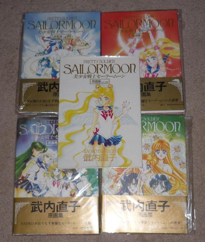 Sailor Moon art books