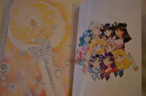 Sailor Moon Manga vol. 8 - Colour pages - Sailor Team - Princess Serenity