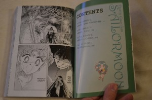 Sailor Moon Manga vol. 8 - Contents