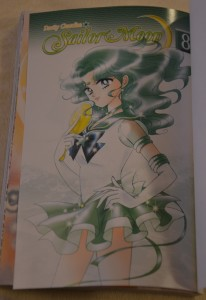 Sailor Moon Manga vol. 8 - Title Page - Sailor Neptune