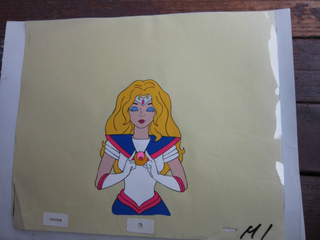 Toon Makers' Sailor Moon cel