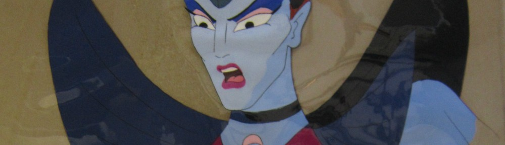 Toon Makers' Sailor Moon cel - Queen Beryl (Saban Moon)