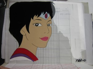Toon Makers' Sailor Moon cel - Sailor Mars