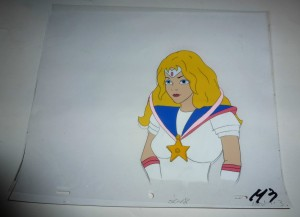 Toon Makers Sailor Moon cel Sailor Moon and her Star Pendant