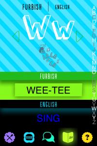 Wee-Tee is furbish for Sing
