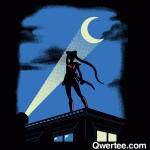 Moon Knight Rises - Batman/Sailor Moon shirt from Qwertee