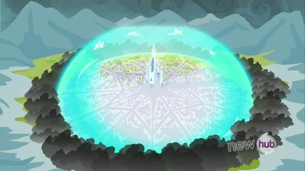 My Little Pony - Crystal Empire - Force Field