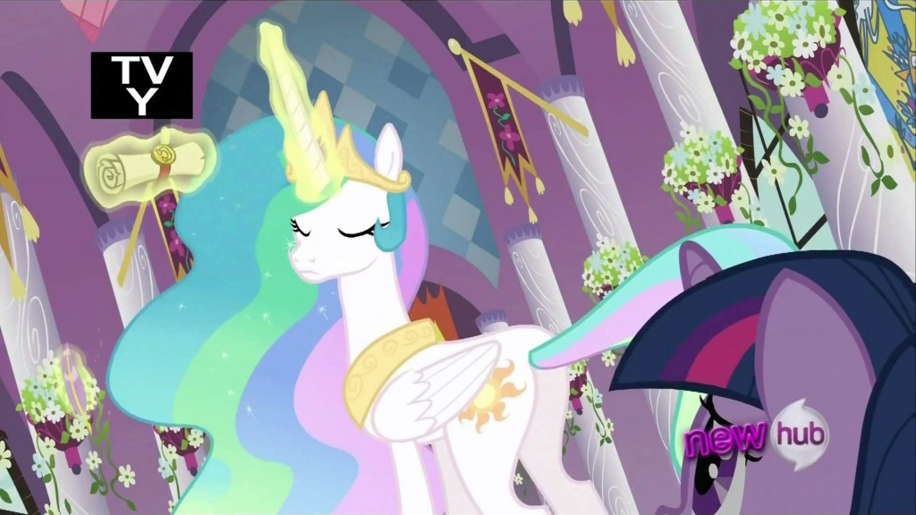 My Little Pony - Princess Celestia tells Twilight Sparkle she failed