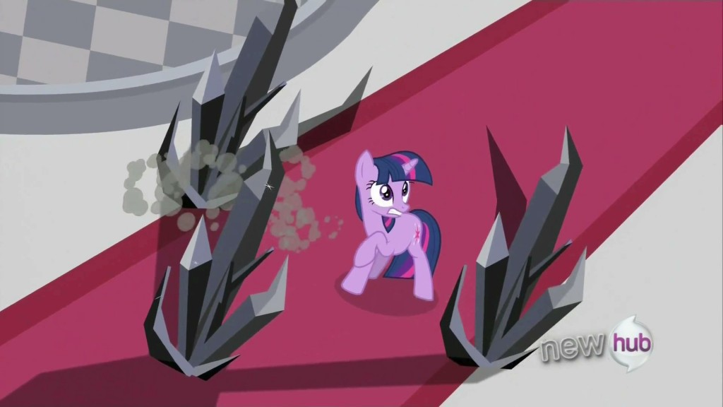 My Little Pony - Twilight Sparkle and shards of the Evil Black Crystal