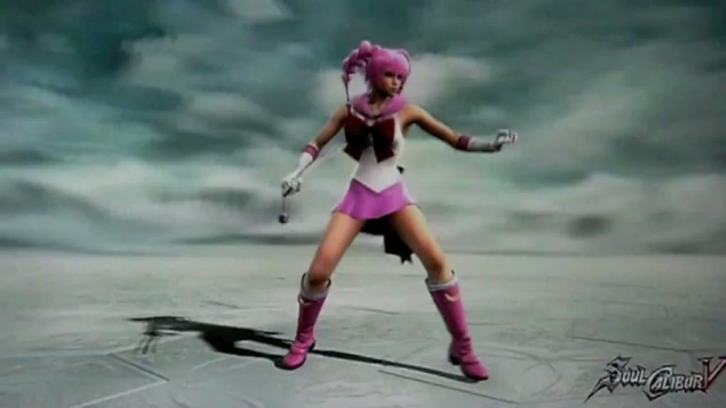 Sailor Chibi Moon in Soul Calibur V