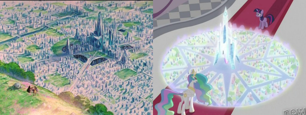 Sailor Moon's Crystal Tokyo - My Little Pony's The Crystal Empire