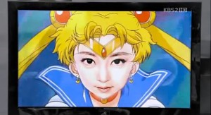 Sailor Moon reference in Myung Wol the Spy episode 7