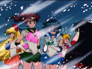 Sailor Moon - Sailor Team freezing near the North Pole D Point