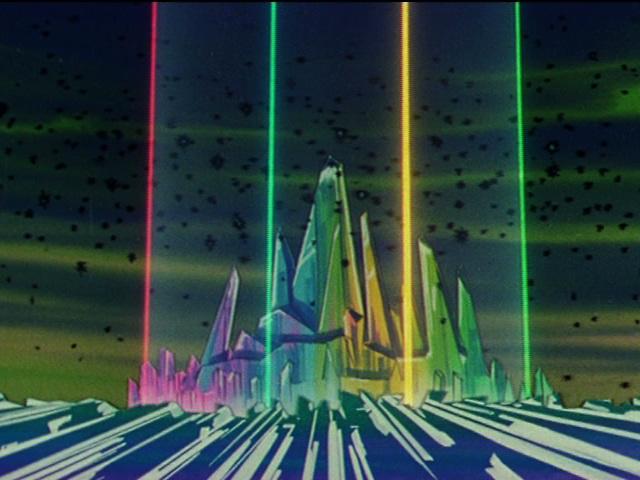 Sailor Moon - Shield around Crystal Palace