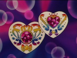 Sailor Moon - Silver Crystal - Heart shaped