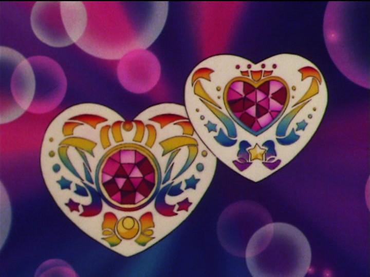 Sailor Moon - Silver Crystal - Heart shaped