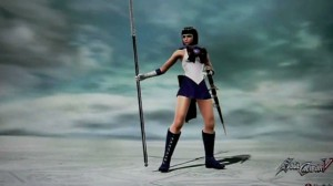 Sailor Saturn in Soul Calibur V