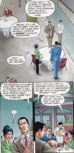 Batman calls out Martian Manhunter, Hino Rei, full page