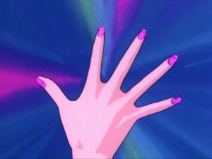 Sailor Moon - Transformation sequence - Hand