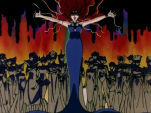 Sailor Moon opening - Queen Beryl in the Dark Kingdom