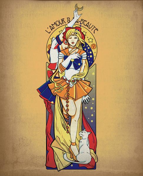 L'amour et la beauté - Sailor Venus short at Ript Apparel