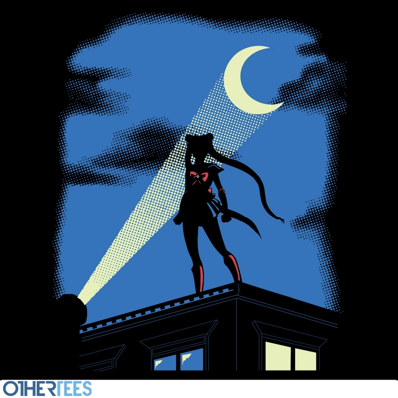 "Sailor Moon/Batman ""Moon Knight Rises"" shirt at OtherTees"