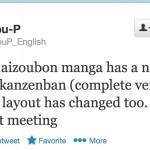Fumio Osano tweet about the complete versions of the Sailor Moon manga