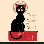 Tournée du chat noir de la luna - Ript Apparel