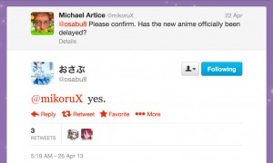 Fumio Osano confirms that the new Sailor Moon anime has been officially delayed