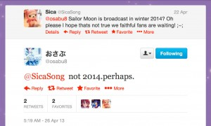Fumio Osano's cryptic answer about the new Sailor Moon anime being delayed until 2014