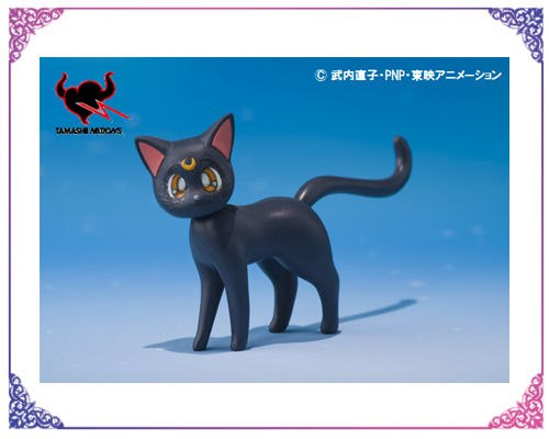 S.H. Figuarts Luna figure is a 1st edition exclusive