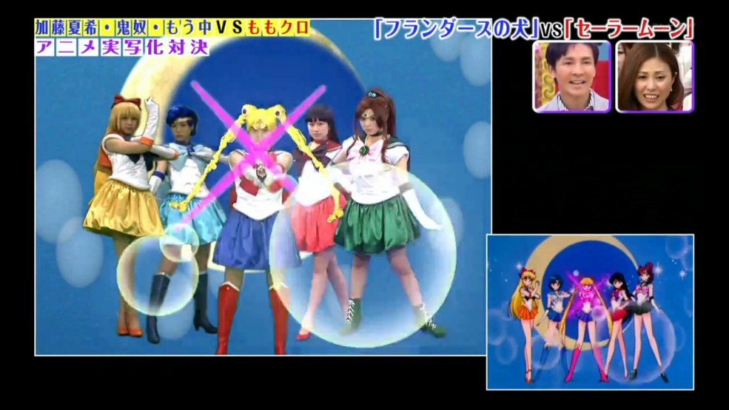 Momoiro Clover Z - Sailor Moon S intro - Sailor Team