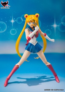 Sailor Moon S. H. Figuarts Figure by Bandai - With her Moon Stick