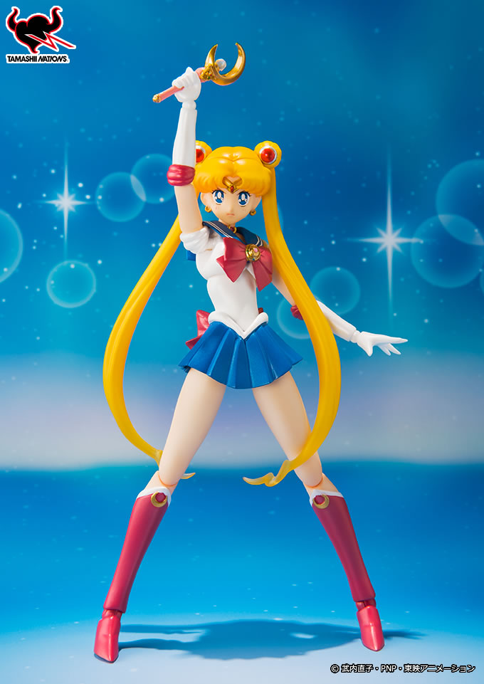 Sailor Moon S. H. Figuarts with Moon Stick